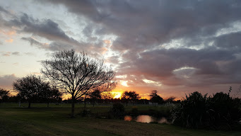 Sunset on my walk today
